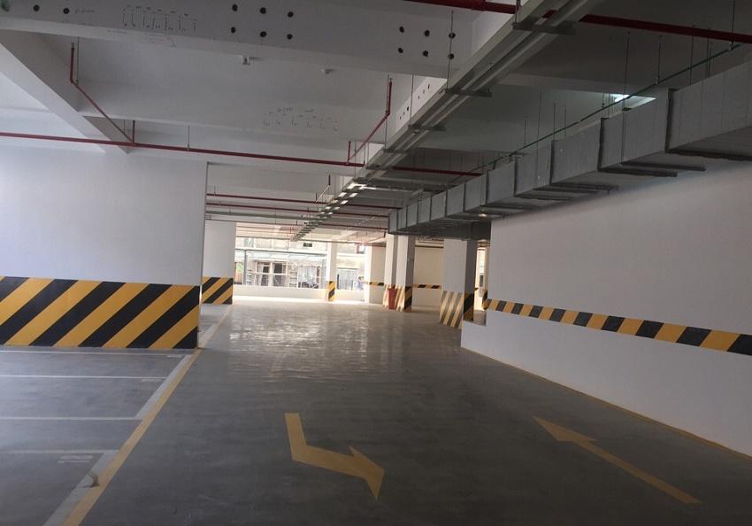 Hầm để xe Chung cư The One Residence