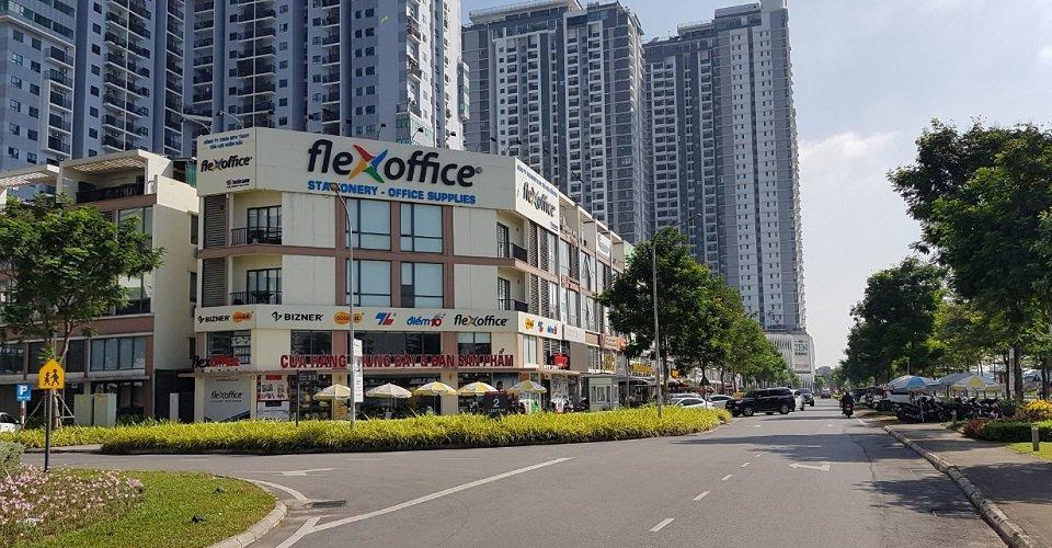 Địa chỉ shophouse Thiên Long gamuda gardens