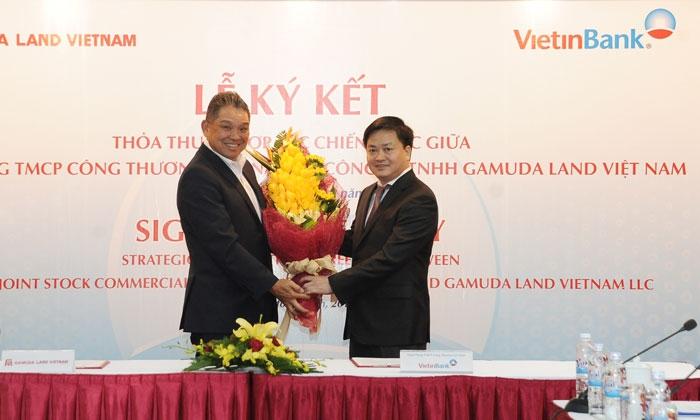 ky-ket-hop-tac-vietinbank-va-gamuda-land-vietnam