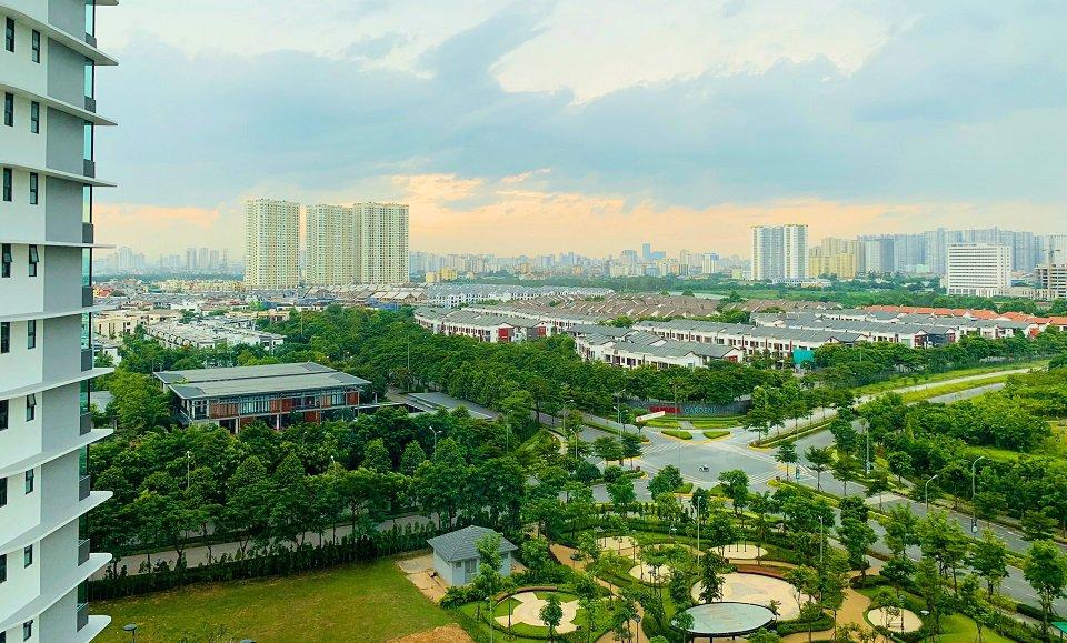 Không gian xanh khu đô thị Gamuda Garden