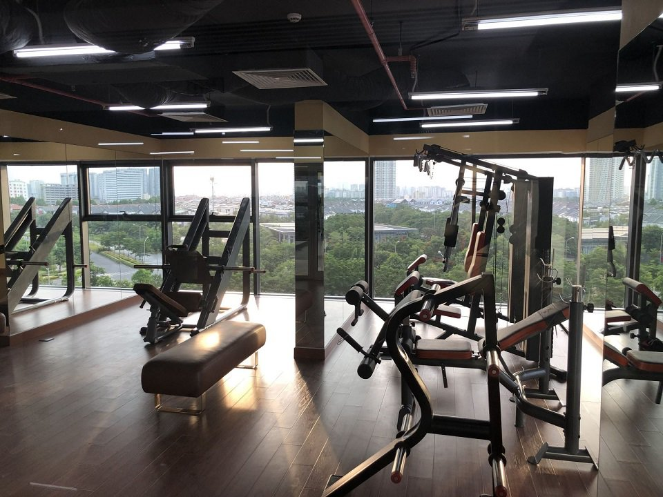 Phòng Tập Gym chung cư The Zen Residence