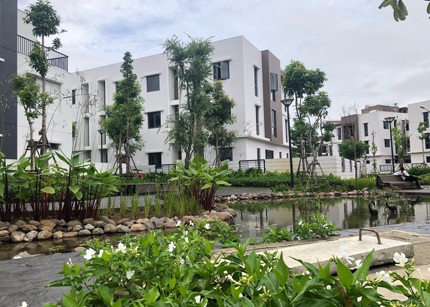 Canh quan khu nhà vườn Gamuda