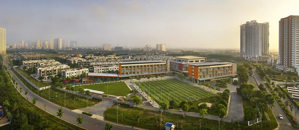 Khuôn viên trường sis gamuda