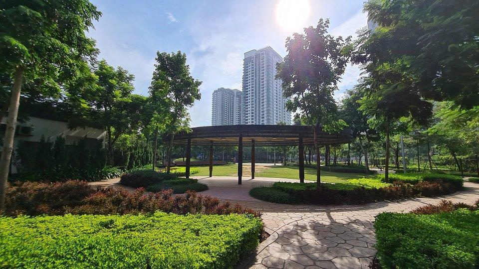 Không gian xanh chung cư Zen Residence