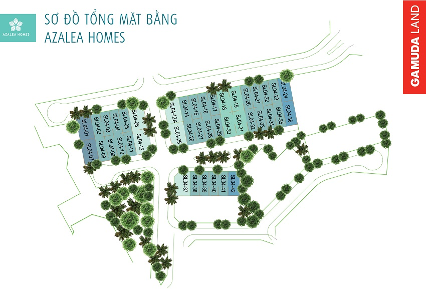 mat-bang-azalea-homes-gamuda-garden