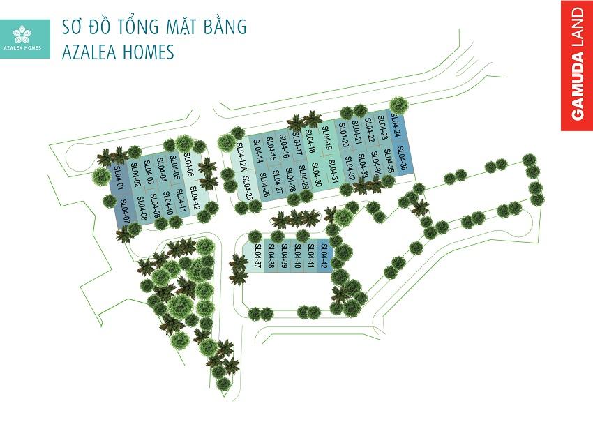 mat-bang-azalea-homes-gamuda-garden
