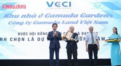 Gamuda Gardens nhận giải thưởng khu đô thị đáng sống nhất Hà Nội