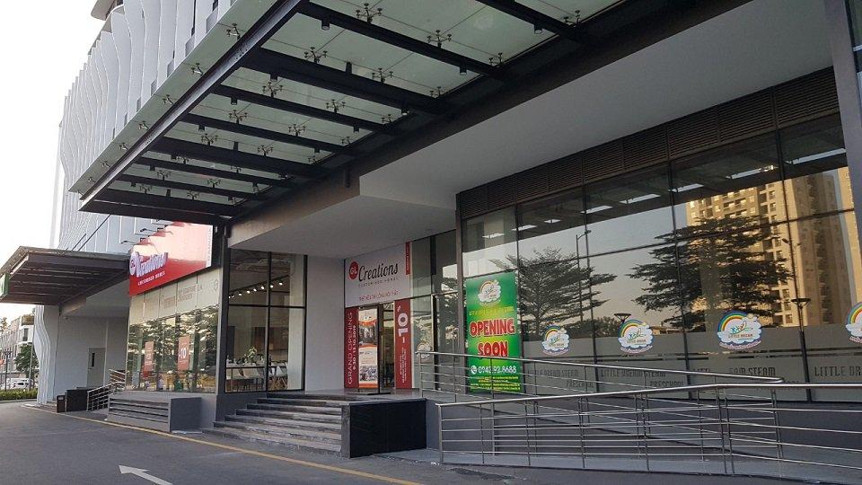 Trung tâm thương mại tòa chung cư the zen residence