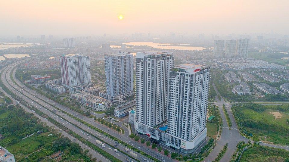 Khu chung cư Gamuda Yên sở Hoàng Mai