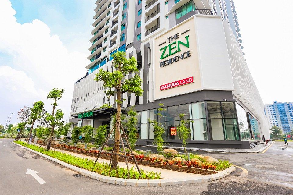 Sàn thương mại chung cư The Zen gamuda
