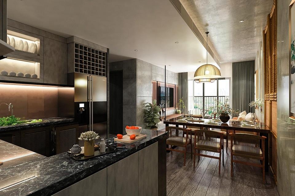 Nội thất căn hộ Central Residence