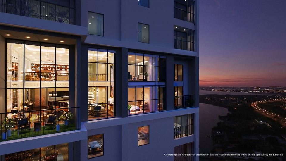 thiết kế chung cư central residence