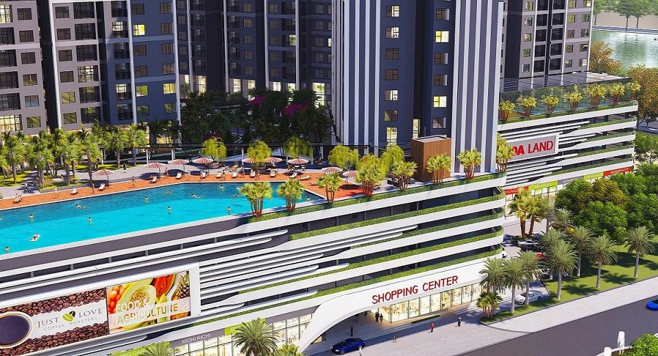 Không gian giải trí chung cư Gamuda Central Residence