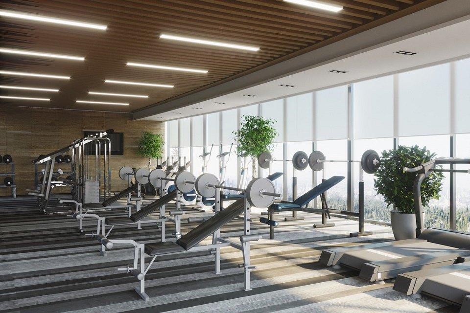 Phòng Gym chung cư Central Residence