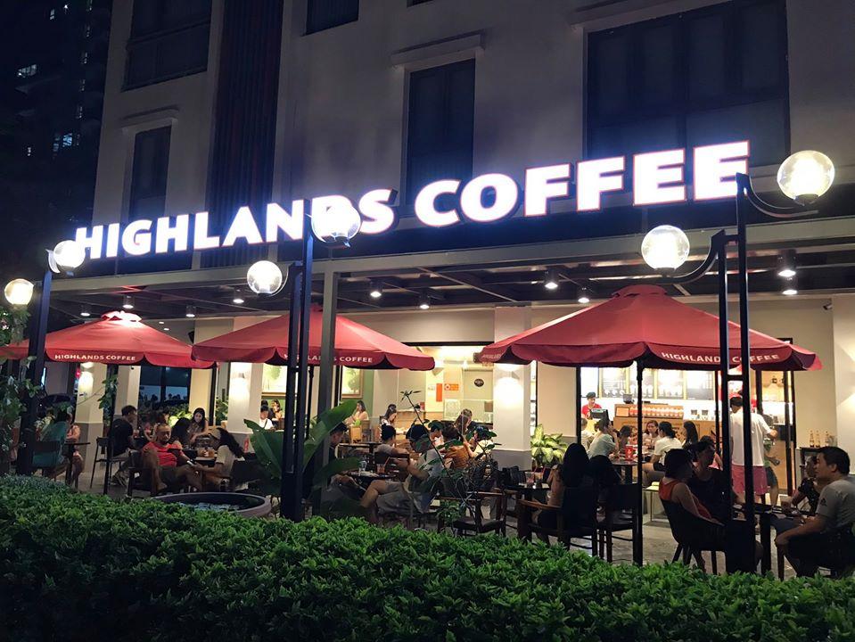 Địa chỉ quán Cà Phê Highlands Coffee - Gamuda Gardens