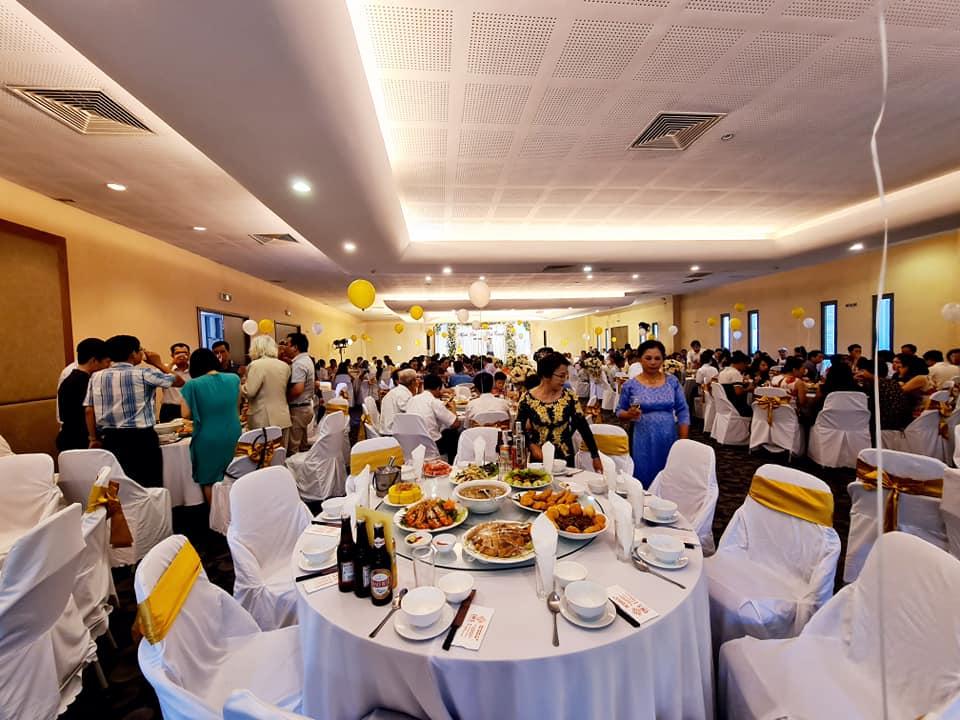 Tổ chức sự kiện tại gamuda gardens