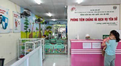 Phòng tiêm vacxin dịch vụ tại Gamuda