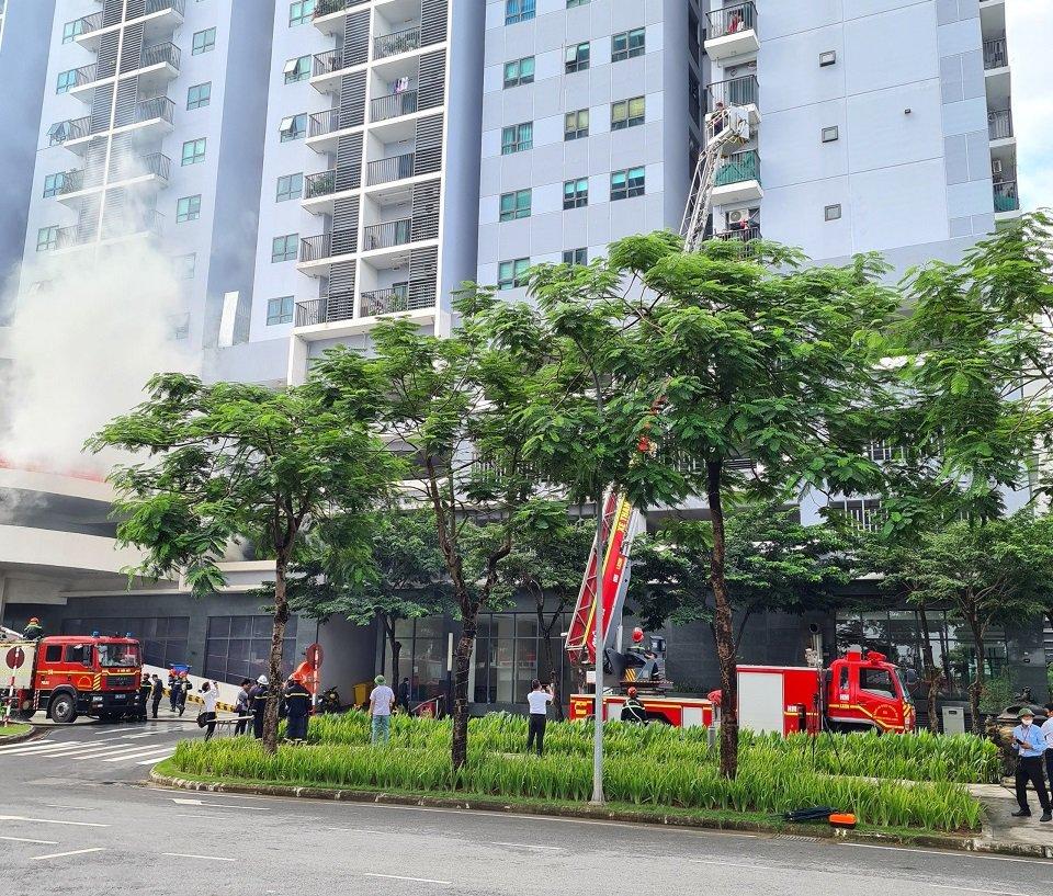cứu hộ cứu nạn khi có sự cố cháy nổ