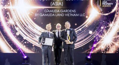 Gamuda Gardens nhận giải dự án nhà ở tốt nhất châu Á