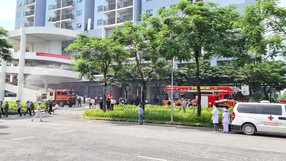 Gamuda Land tổ chức diễn tập phong cháy chữa cháy cho cư dân